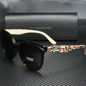 Burberry Black 55mm Womens Sunglasses! NIB!